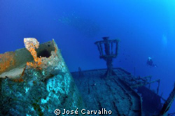 &quot;Madeirense&quot; Wreck, Porto Santo, Portugal. by Jos&#233; Carvalho 